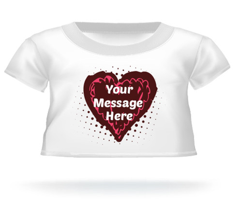 Heart Truffle T-shirt for Giant Teddy
