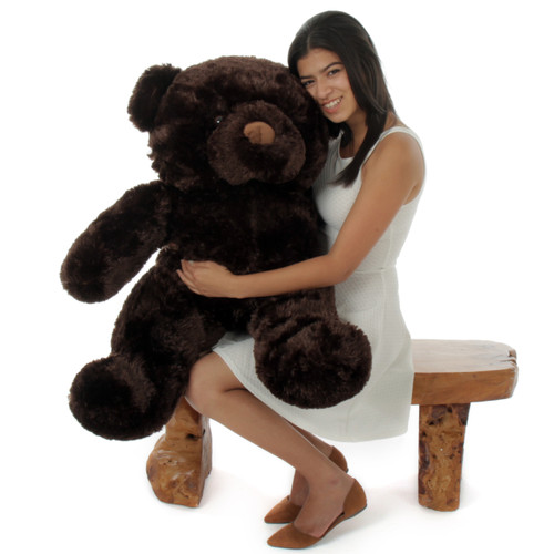 38in Best Munchkin Chubs Dark Brown Teddy Bear