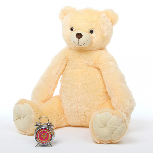Tiny Tubs vanilla cream teddy bear 42in
