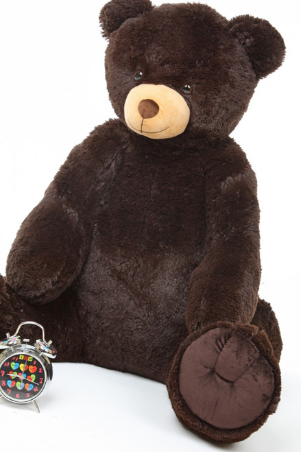 Huge Chocolate Brown Teddy Bear Baby Tubs 42in