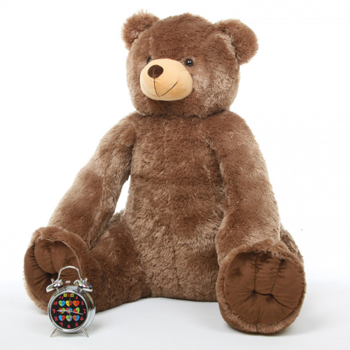 Huge Mocha Brown 42in Sweetie Tubs Teddy Bear
