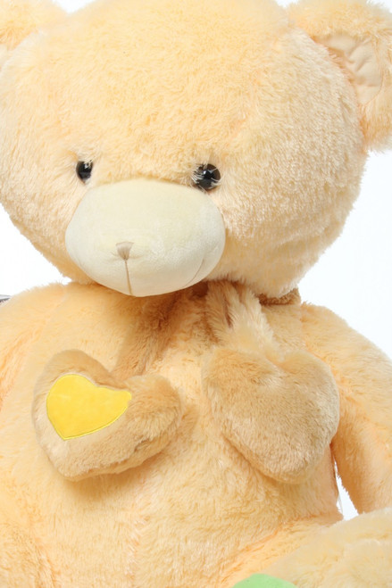 Huge 45in Cream Sweet Hugs Teddy Bear