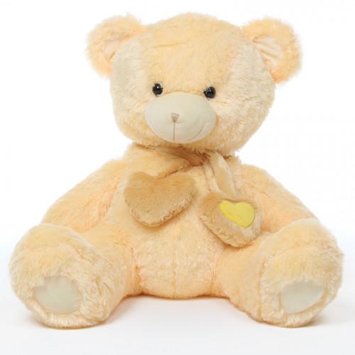 36in Cream Vanilla Sweet Hugs Teddy Bear