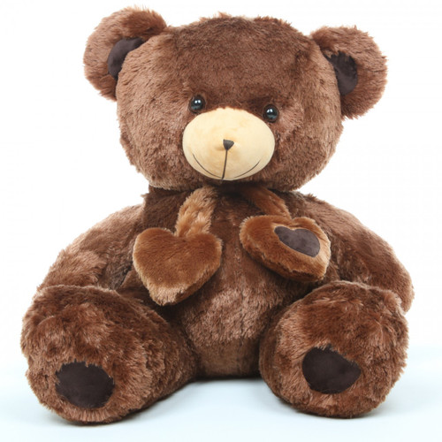 3ft Chestnut Huge Teddy Bear Lucky Hugs