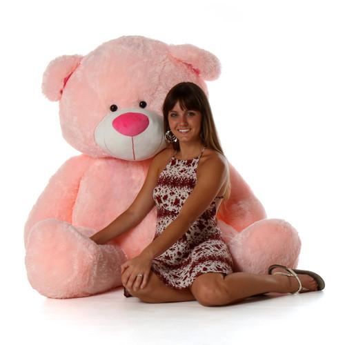 Lulu Shags Giant pink teddy bear 5 Foot