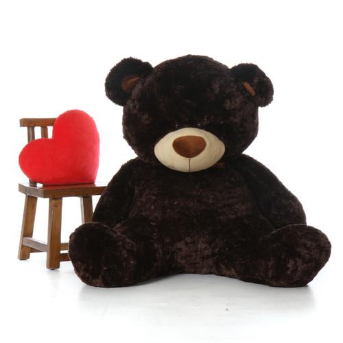 Giant Teddy Bear Sitting Position 5 Foot Tall Floppy Head