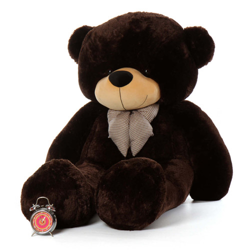 72ft Life Size Teddy Bear Brownie Cuddles Chocolate Brown Fur