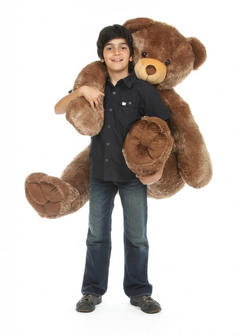 Sweetie Tubs Extra Cuddly and Giant Mocha Brown Teddy Bear 52 inch