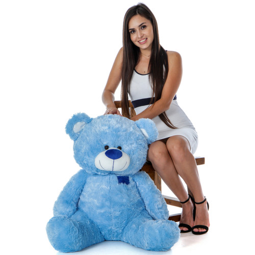 Giant 35 Inch Adorable Teddy Bear in Sitting Position