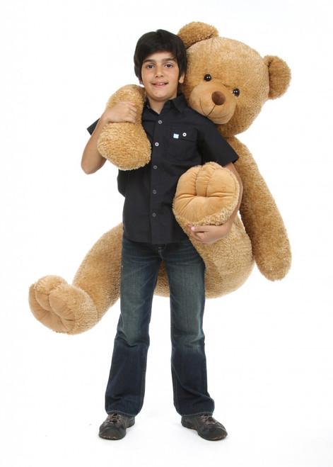 52in amber brown jumbo teddy bear Honey Tubs