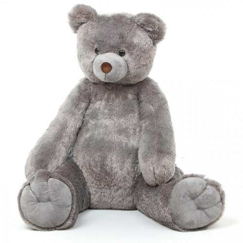 Sugar Tubs Cuddly Grey Plush Teddy Bear 32in