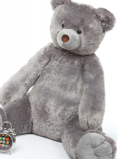 32in Grey Plush Teddy Bear Sugar Tubs