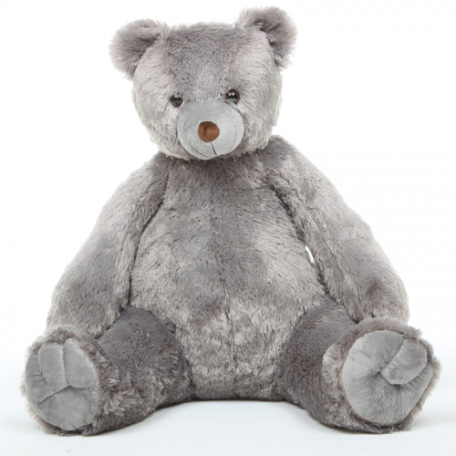 Oversized Grey Teddy Bear Sugar Tubs