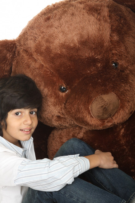 Rare Color Chestnut Brown Giant Teddy Bear