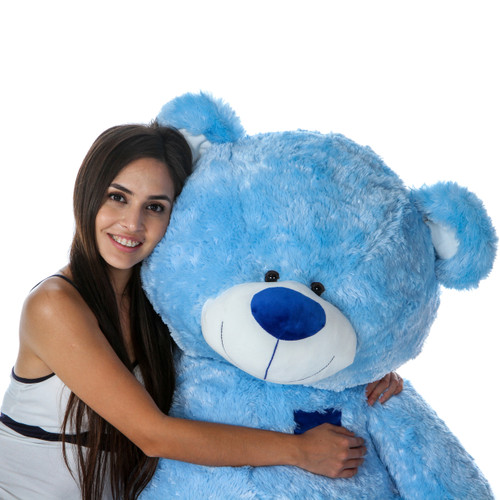 Adorable 45 Inch Blue Teddy Bear