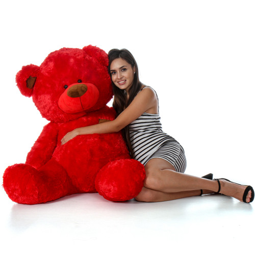 Huge Red Teddy Bear
