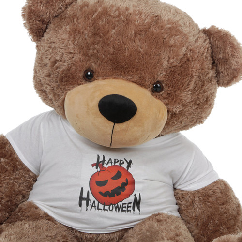 Super Soft Adorable 4 Foot Mocha Brown Teddy Bear