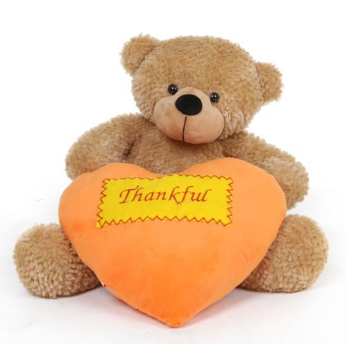 2 foot Thanksgiving Teddy Bear Gift