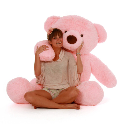 Best plush toy Gigi Chubs 5ft Giant Teddy huggable and soft Bear