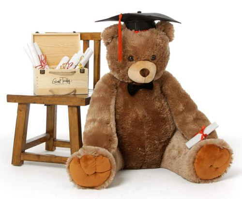 Graduation Teddy Bear Sweetie Tubs 48in