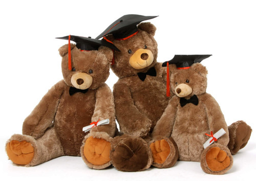 Family of Sweetie Tubs Graduation Teddy Bear