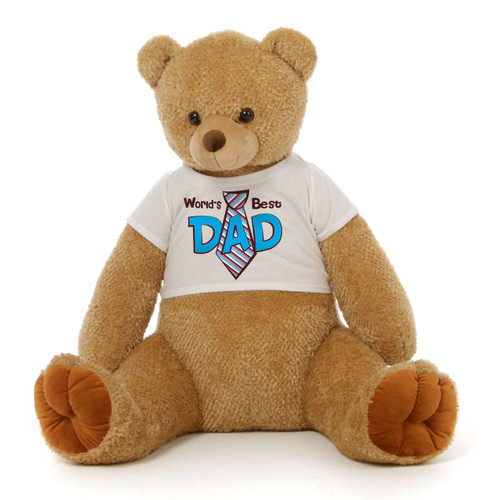 Father's Day Light Brown Teddy Bear