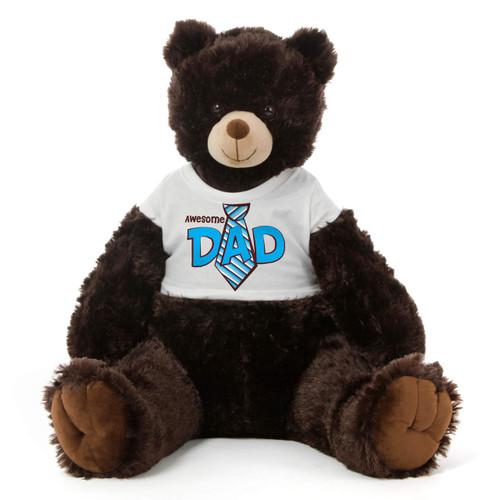 Brown Father's Day Big Teddy Bear