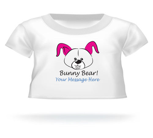 Bunny Bear! Giant Teddy Bear Personalized Easter T-shirt