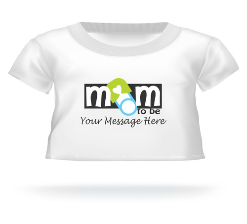 Personalized Giant Teddy Bear shirt for the Mom To Be