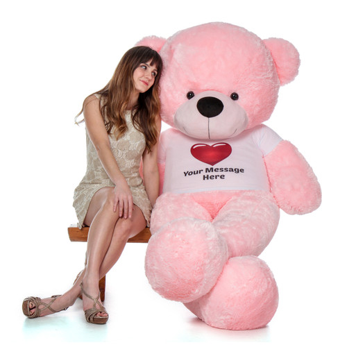 Giant Teddy Brand 6 Foot Personalized Teddy Bear for Valentine's Day Present (1)
