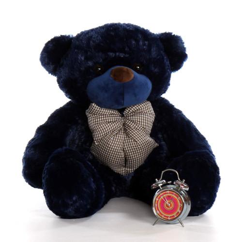 3ft Navy Blue Royce Cuddles Giant Teddy Bear