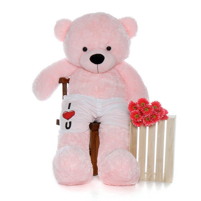 5 Foot Giant Pink Teddy Bear - Best Valentine's Day Gift