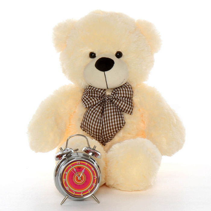 24in Cream Cozy Cuddles Teddy Bear