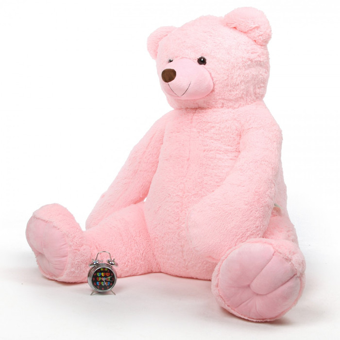 Darling Tubs Extra Cuddly and Soft Pink Teddy Bear 65 inches