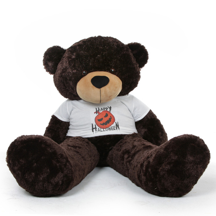 Halloween Big Plush Stuffed Teddy Bear by Giant Teddy