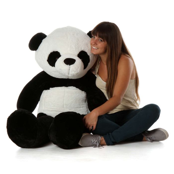 4ft Giant Panda Bear Ricky Xiong