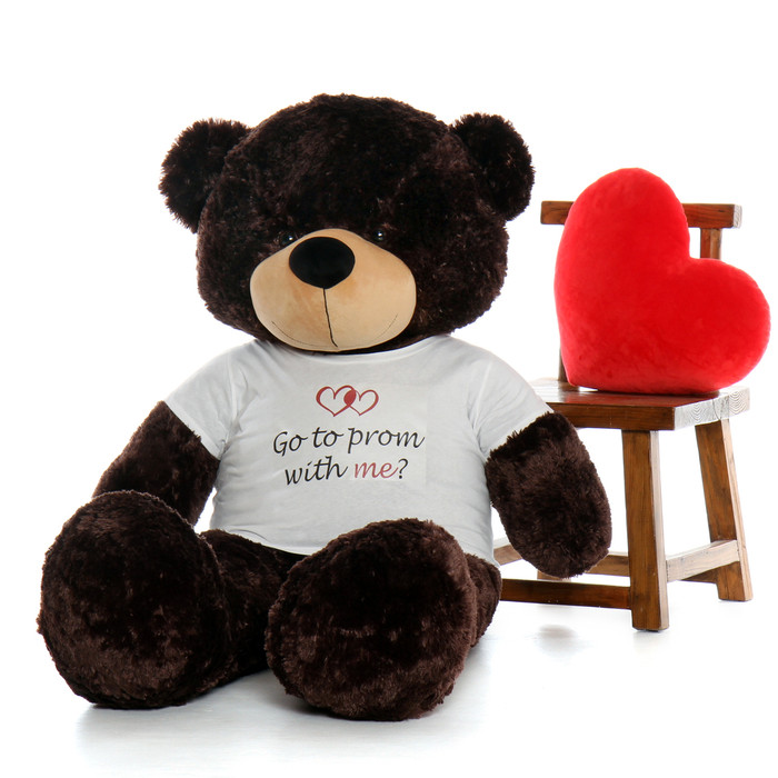 Graduation Gift 60in Chocolate Brown bear Class of 2017