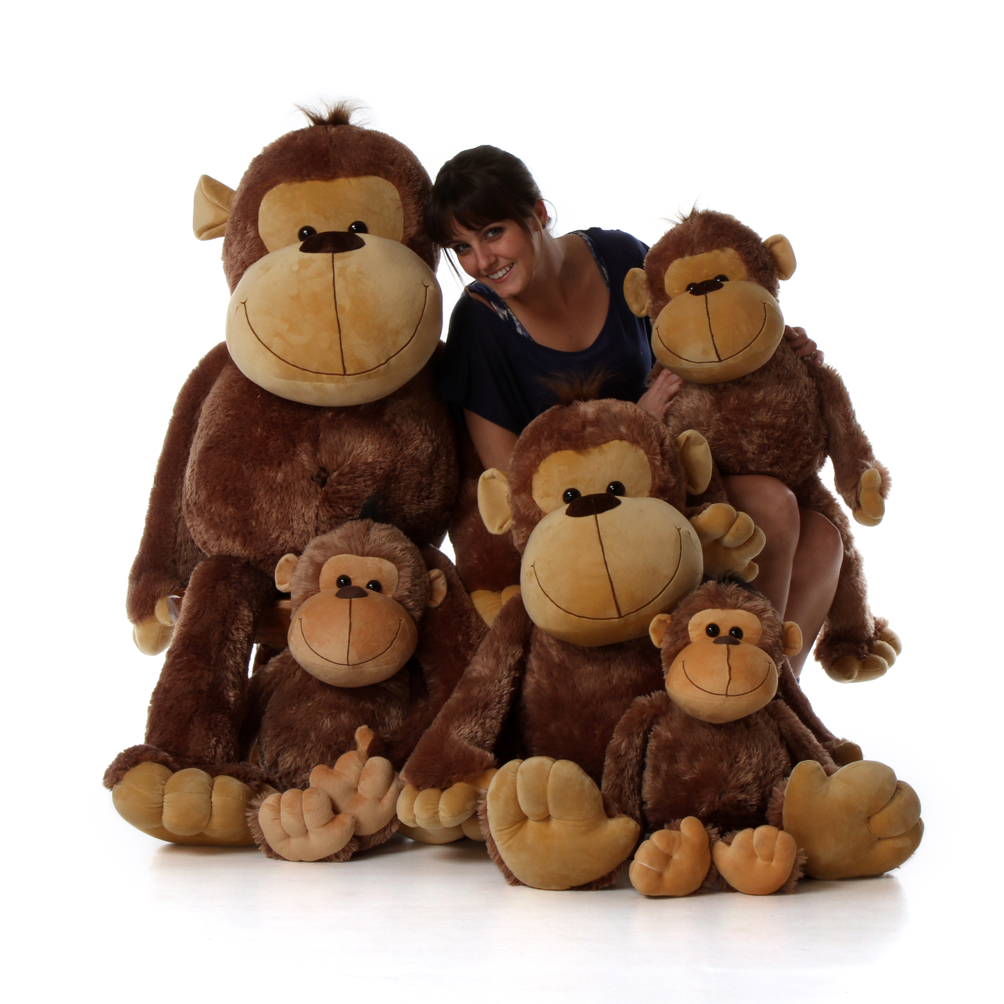 monkey giant teddy