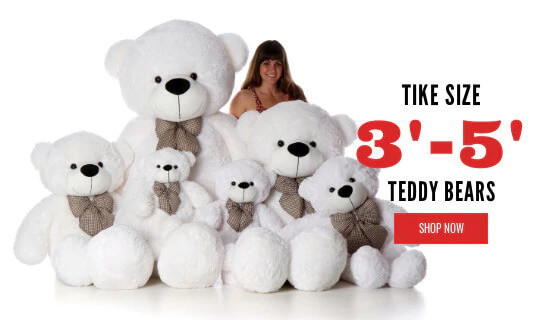 shop by size teddy bears