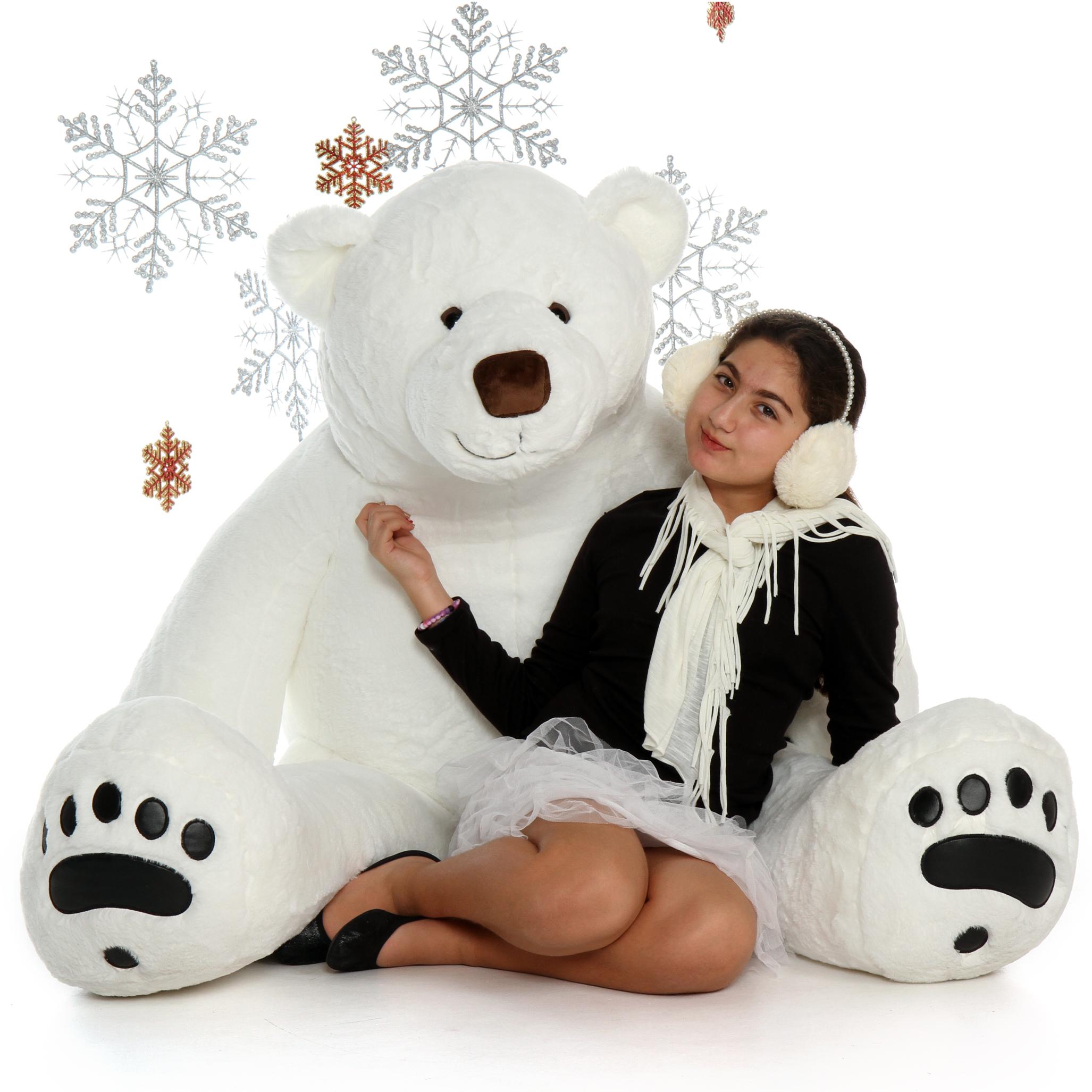 polar bear giant teddy