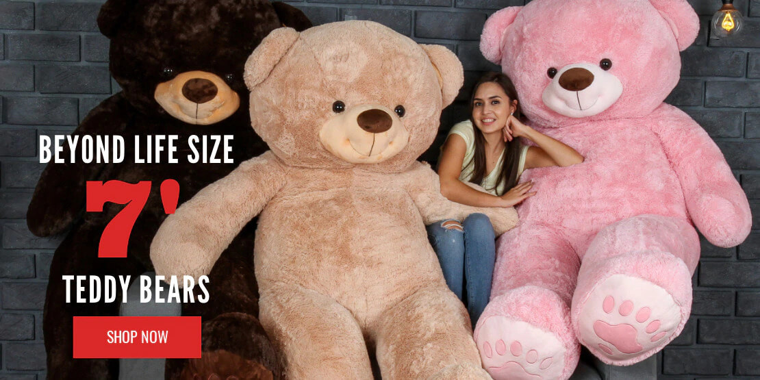7 foot teddy bears