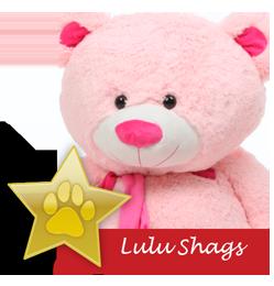 Lulu Shags famous giant teddy bear