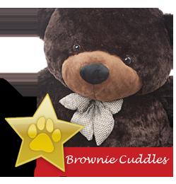 Brownie Cuddles famous giant teddy bear
