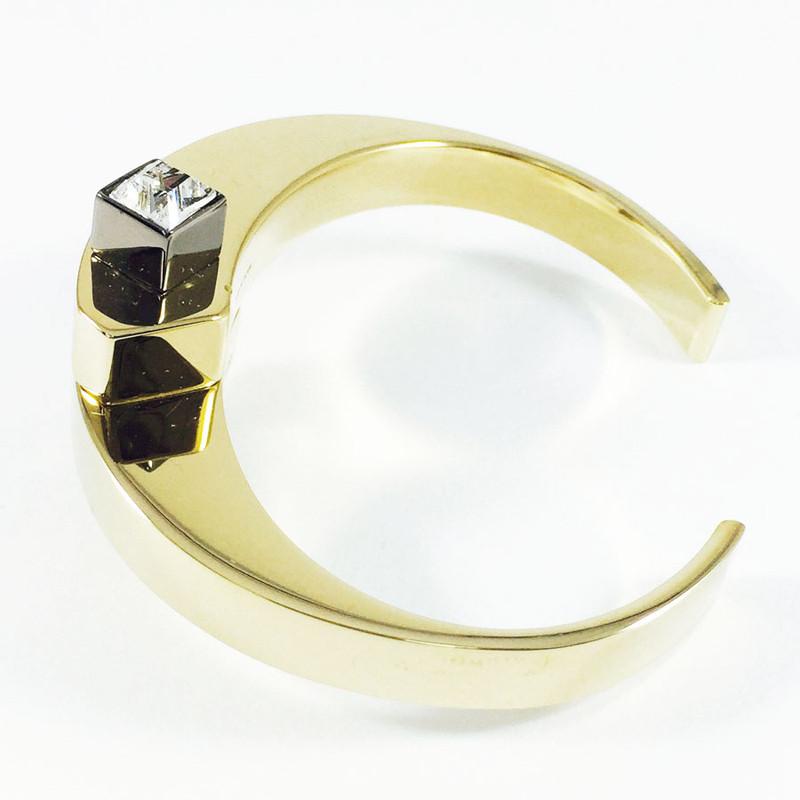 may mOma Gold Plated Bracelet with White Swarovski Crystals art no: 9085/F_Z001