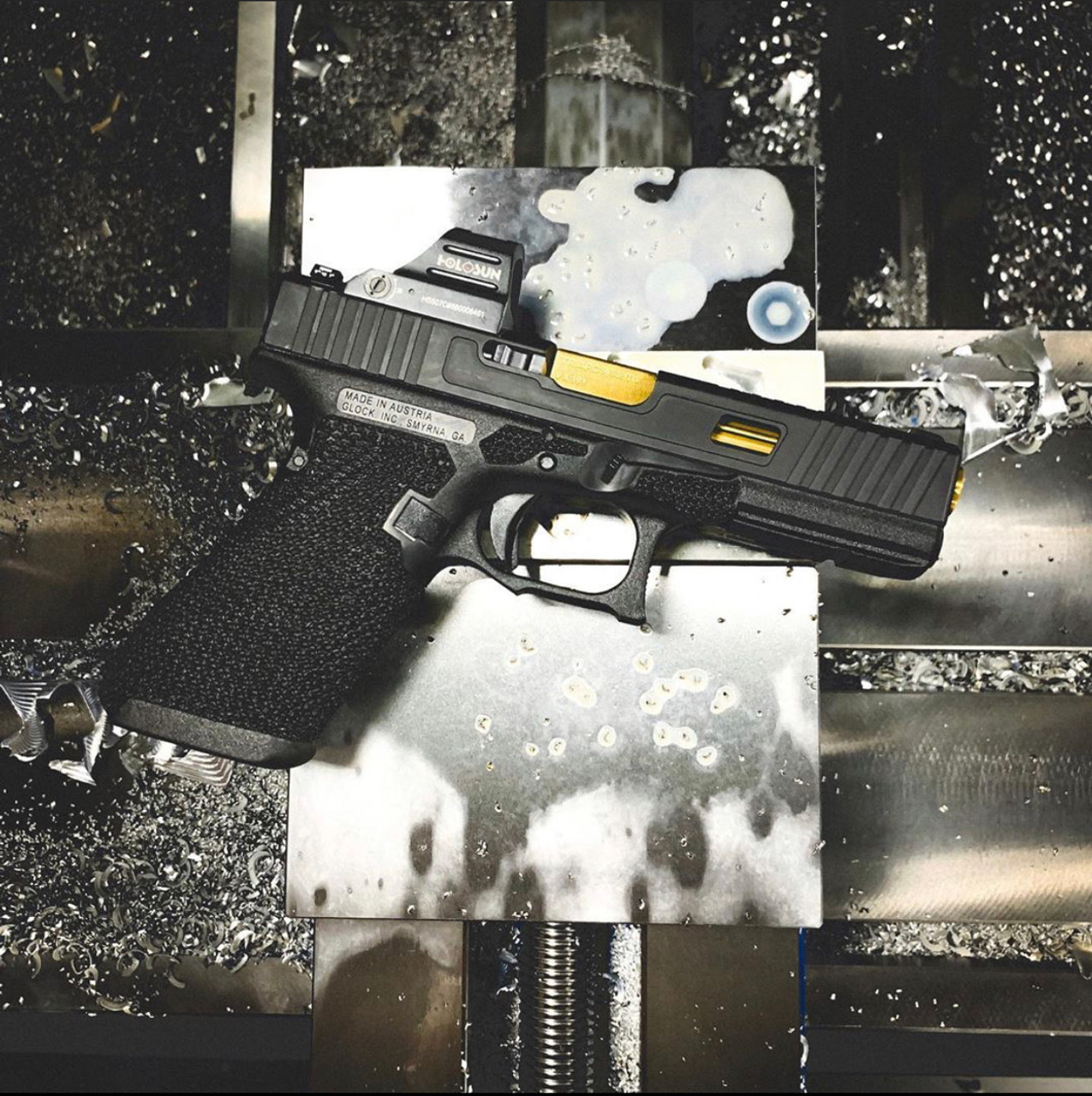 Glock Slide Milling for Trijicon RMR/SRO/Holosun