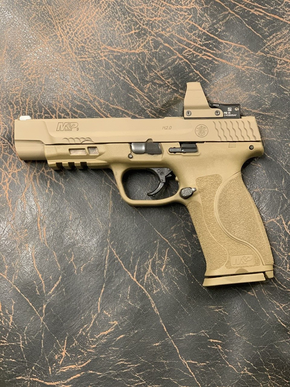 M&P Deltapoint Pro Optic Milling