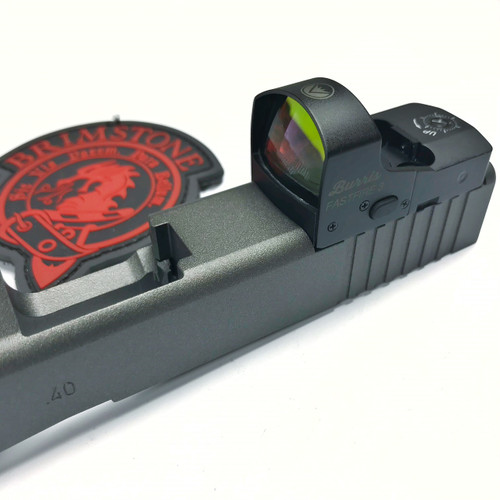 Glock Slide Milling, Burris FastFire 3