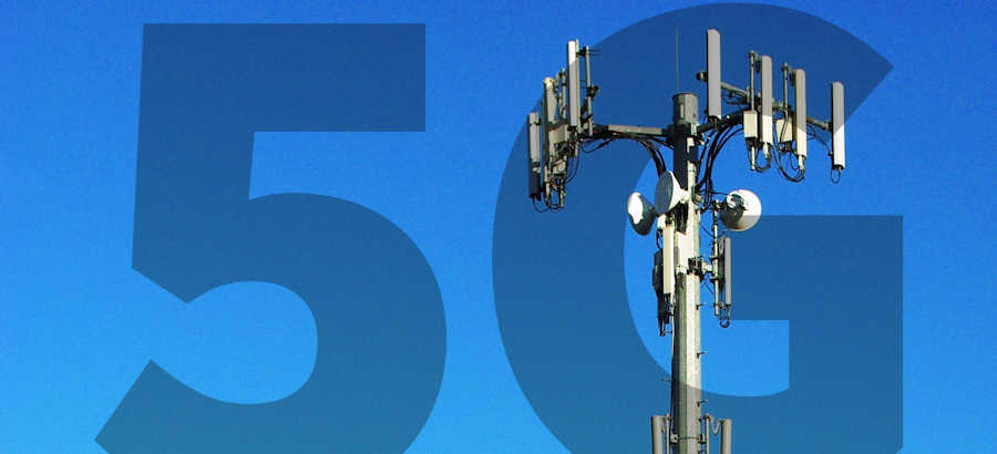 5G cell phone tower