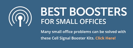 Best boosters for small offices: Many small office problems can be solved with these cell signal booster kits
