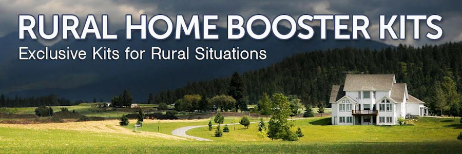 Rural home cell signal boosters from Powerful Signal
